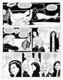 LOVE AND ROCKETS #41 p.14, 1993