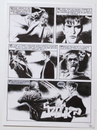 """l'eterna ILLUSIONE"" Dylan Dog N°196 page 96"