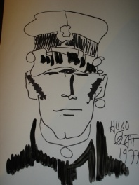 Corto Maltese, Illustration originale