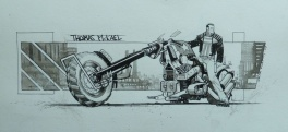 Punk Rock Jesus - Thomas Motorcycle - Sean Murphy