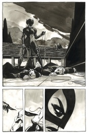 Catwoman . When in Rome # 5 p.11 .