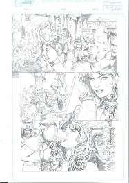 Red Sonja- Planche 2