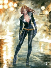 Manara Milo - Black Widow - Original Art