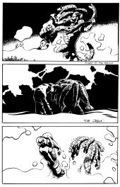Hellboy, Makoma Issue 2 page 19