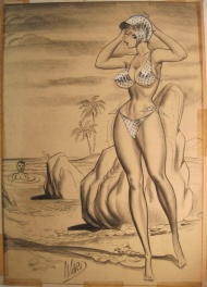 Bill Ward - on the beach