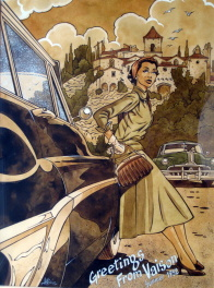 Greetings from Vaison 1952