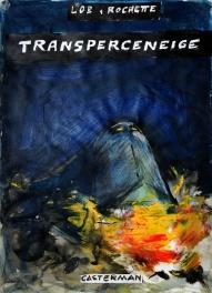 Transperceneige, maquette de couverture alternative Comic Art