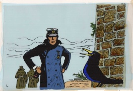 Corto Maltese 1977 cartoon cel