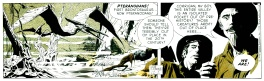 Secret Agent Corrigan . Strip du 2 décembre 1970 .