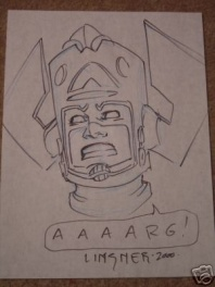 Galactus by Linsner