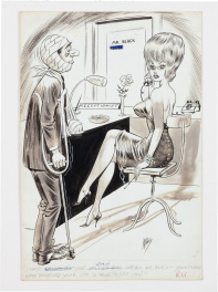 Humorama Cartoon Illustration (1965)