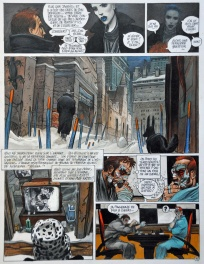 Comic Strip - Bilal / Froid Equateur
