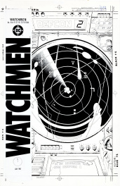 Watchmen #10 Couverture