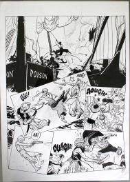 Capitaine La Guibole Comic Art