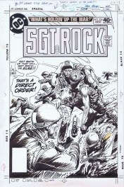 Sgt Rock Cover by Joe Kubert