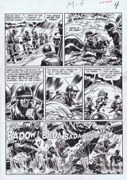 Two Fisted Tales page by Jack Davis