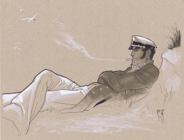 Corto Maltese by Stephane Roux