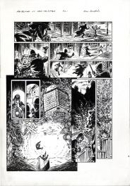 Van Helsing Vs. Jack the Ripper Vol.2 p.21 Comic Art