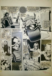 Judge Dredd - The Forever Crimes by Brian Bolland - 2000AD Prog 120