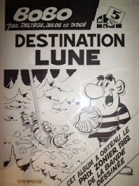 Bobo n° 5, « Destination Lune », 1982.