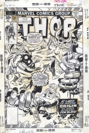 Thor Cover, Issue 254