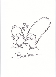 Homer et Marge Simpsons