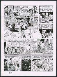 Le Spirou de Yann et Schwartz Comic Art