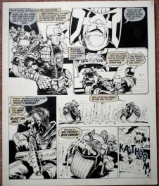Judge Dredd - Judge Minty: The Long Walk by Mike McMahon - 2000AD Prog 147