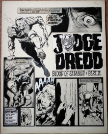 Judge Dredd - The Blood Of Satanus by Ron Smith - 2000AD Prog 153