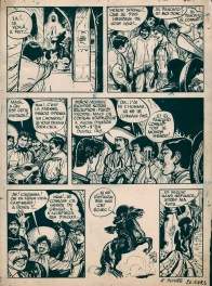 Jerry Spring n° 1 « Golden Creek », planche 11, 1954.