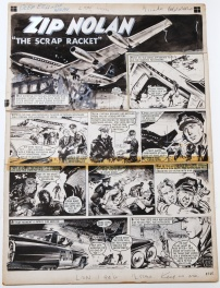 "Lion 21 Fevrier 1964 - ZIP NOLAN  "" The Scrap Racket """