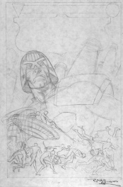 Judge Dredd Crime Files #1 - Brian Bolland Prelim.