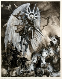Saint Asname - Illustration pour Warhammer
