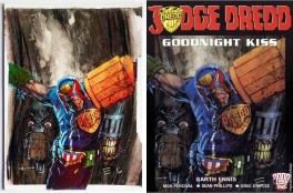 Jock - Dredd and Death Classic Combo Early 2000s Cover