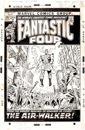Fantastic Four 120 cover