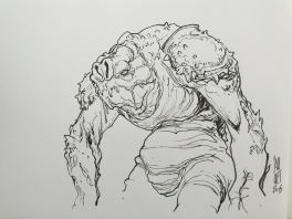 Cauuet - Star Wars - Jabba's Monster