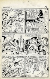 Comic Strip - X-Men 11- page 10- Jack Kirby and Chic Stone