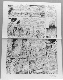 "Wanted - tome 6 "" Andale Rosita "" planche 25"
