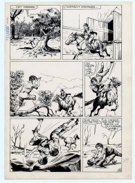 Flambo,  planche 26 - Bourask n° 29 (page 100), 1961, éditions Lug