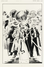 The League of Extraordinary Gentlemen, Illustration Originale