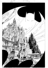 Batman: Whatever Happened to the Caped Crusader splash page