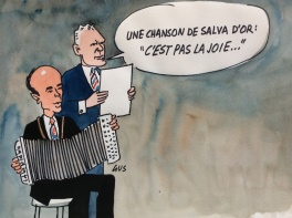 Valery Giscard d'Estaing - Pierre Messmer