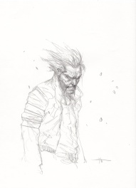 Sketch Wolverine Dell'otto