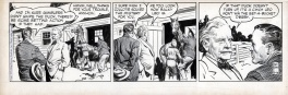 Rusty Riley - Daily strip 16 juillet 1955