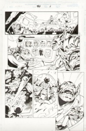 X-Men #90 - Skrulls, X-Men and Galactus!
