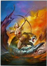 Tamar – Step into Eos – Boris Vallejo & Julie Bell