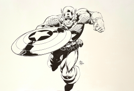 Captain America by Deodato Jr