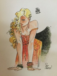 Alberti, pin up blonde