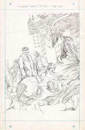 Amazing Spider-Man 123 page 1 original pencils