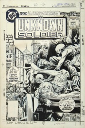 The Unknown Soldier # 247 Cover